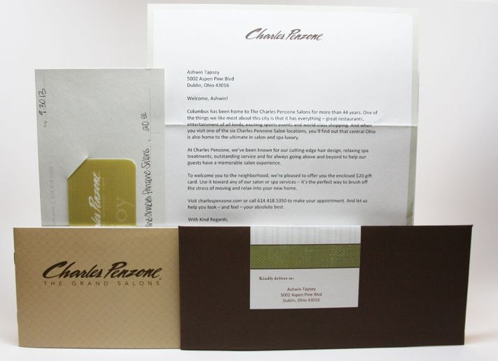 2014 STAMP: Charles Penzone's Direct Mail Campaign