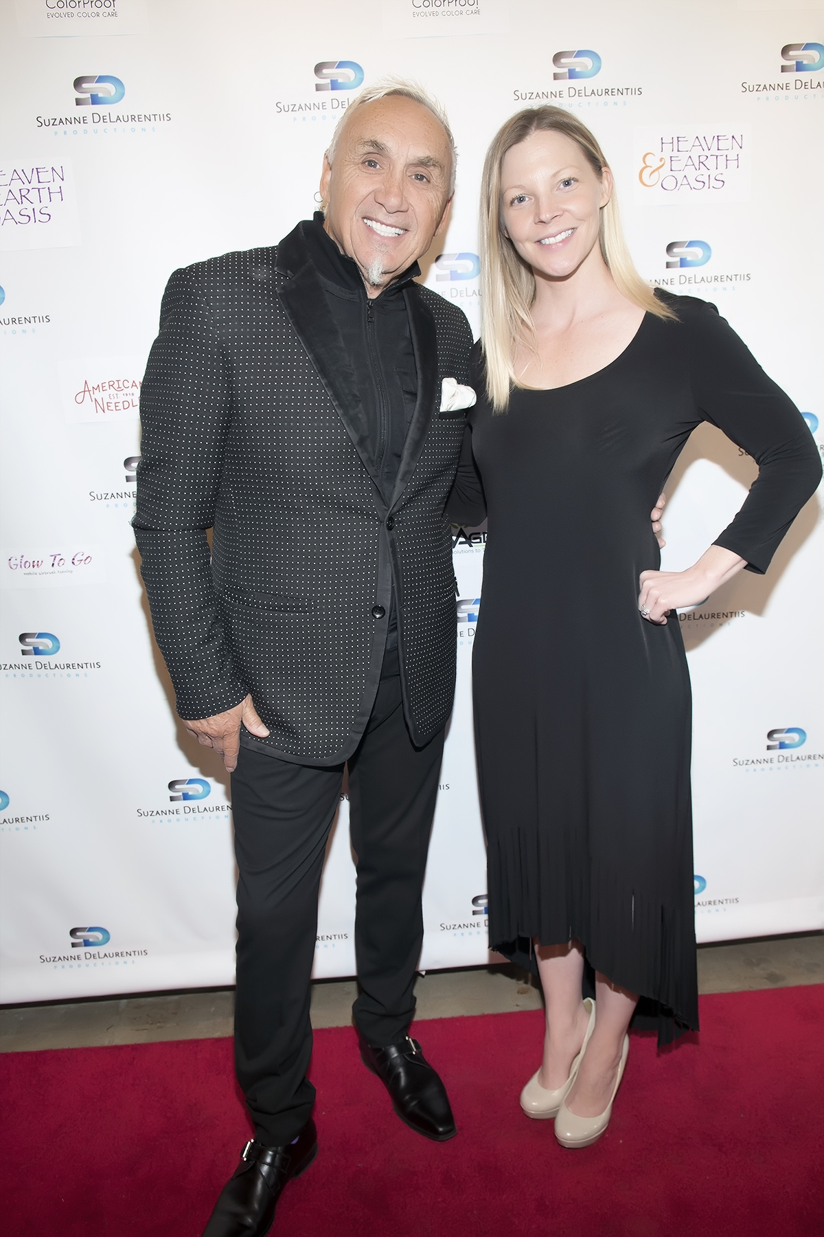 ColorProof's International Creative Director, Phillip Wilson, and Vice President of Marketing, Kelly Beam