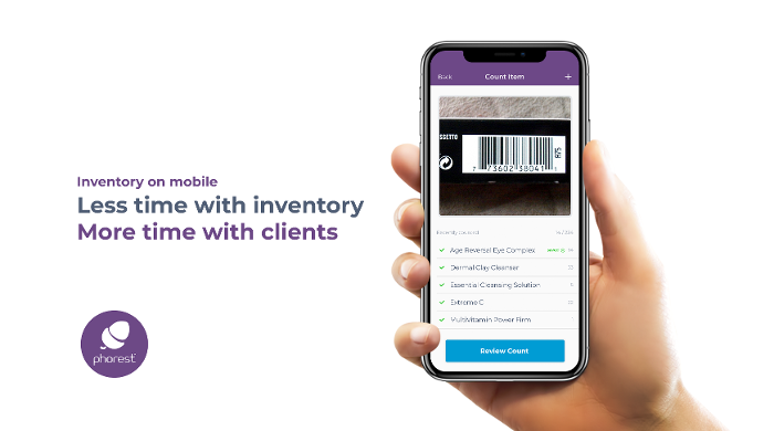 Following the success of #SalonRetail Week, Phorest Salon Software announced a new inventory feature on the Phorest Go App, designed to save owners time and energy.