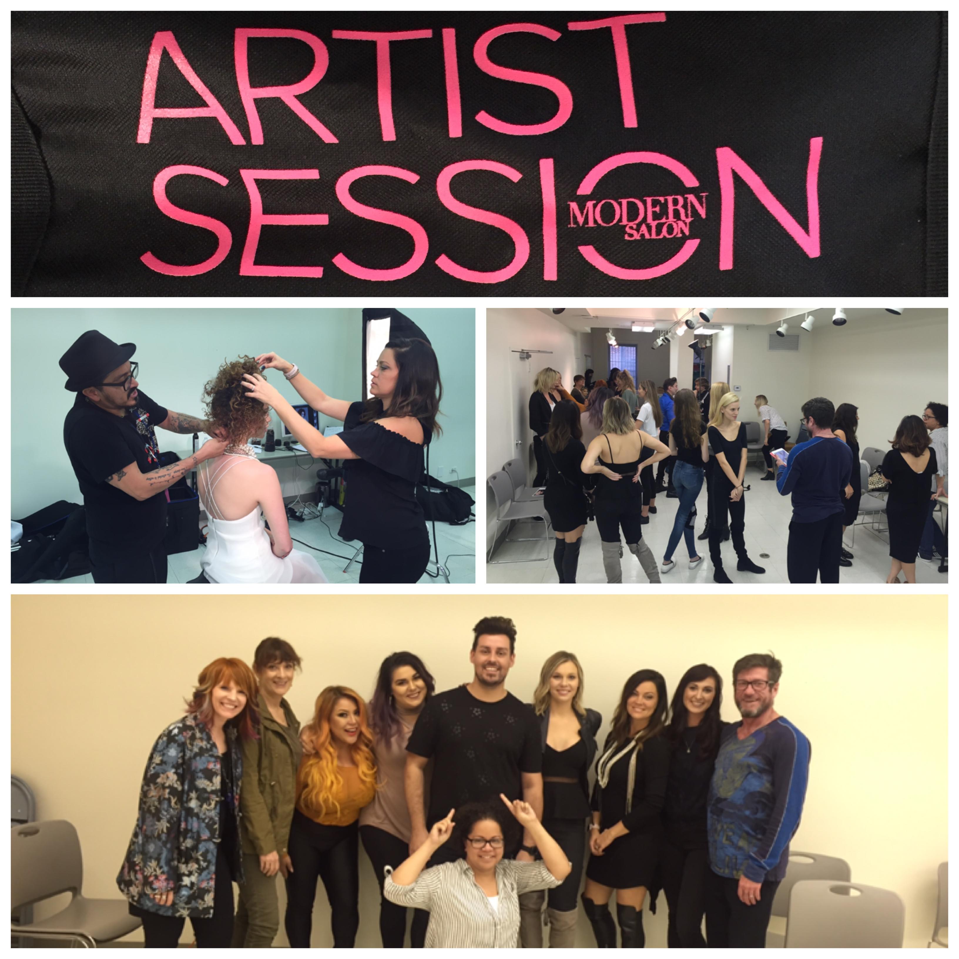 ARTIST SESSION, Fall 2017 - Having Fun!