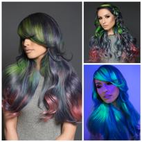LITE BRITE: Hair That Glows In The Dark