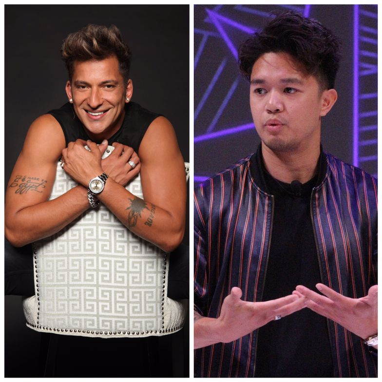 Martino Cartier (left) and Mark Bustos to appear at The Millennium Experience.