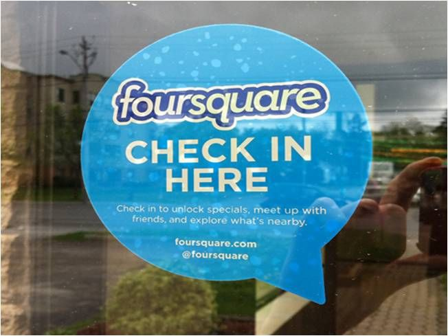 On Your Mark. Get Set. Foursquare!