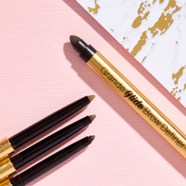 GrandeGLIDE Brow Pencils feature a buttery formula that blends eyebrows.