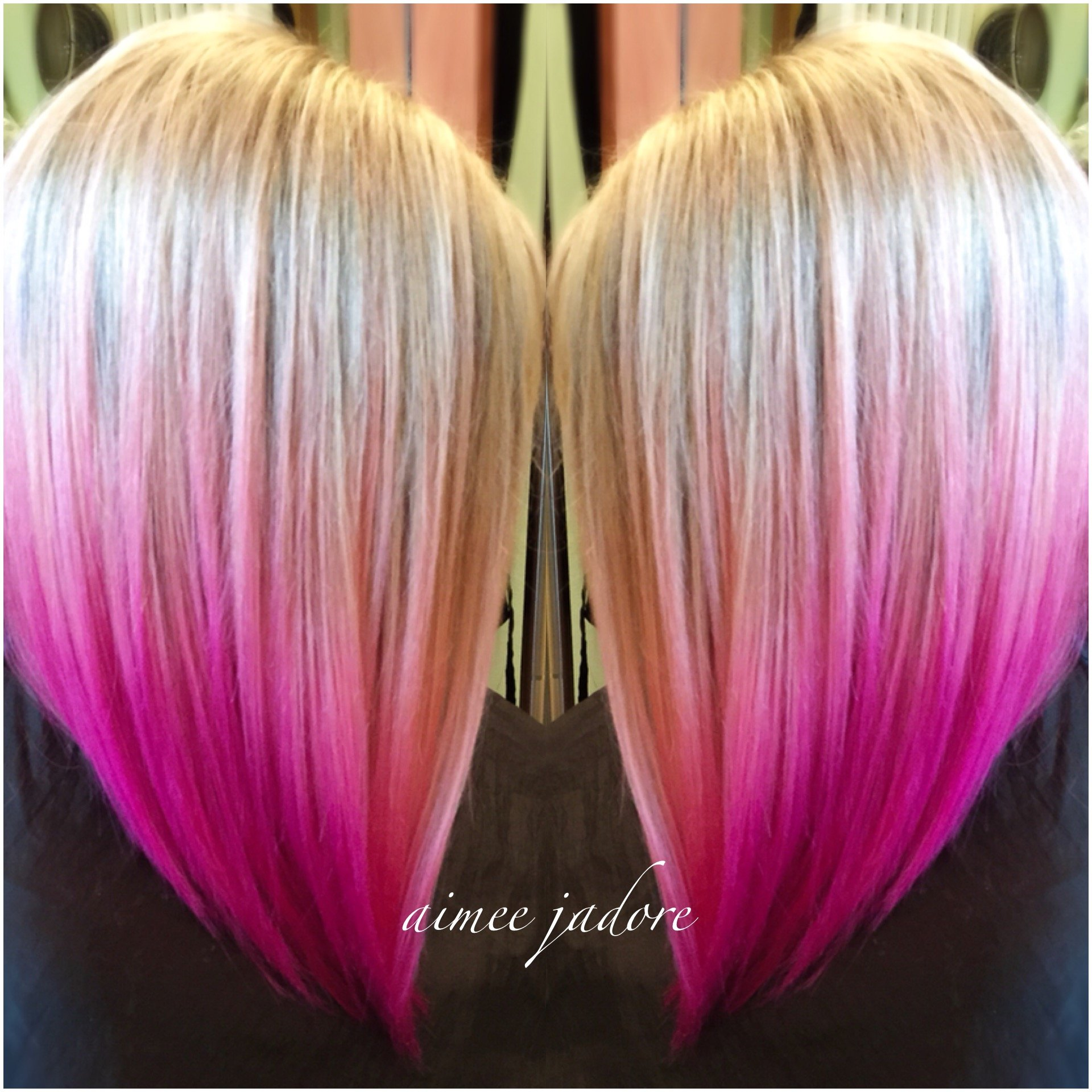 Just Adoring This Pretty Pink Sombre
