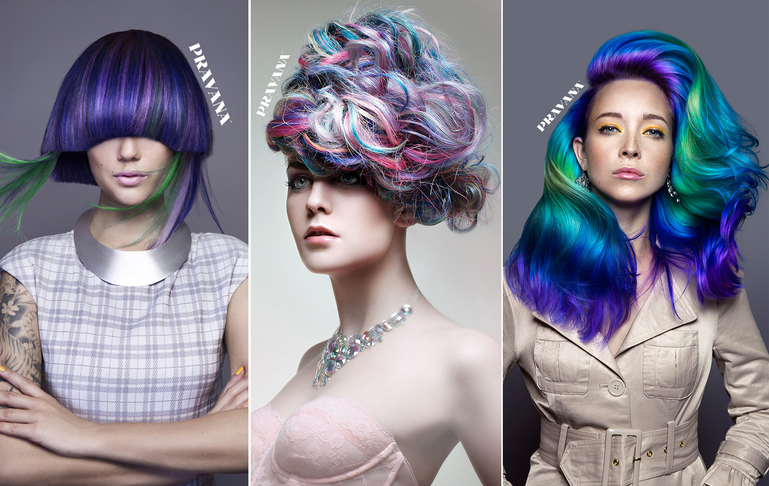See the 2015 Winners of Pravana's Show Us Your Vivids Contest - Plus, a How-to!