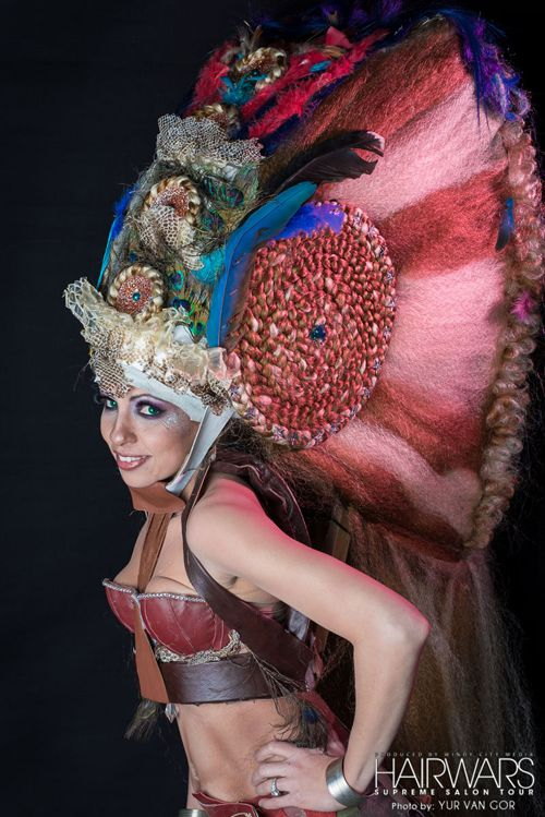 Pre-Hispanic Theme, Danny Hair Studio