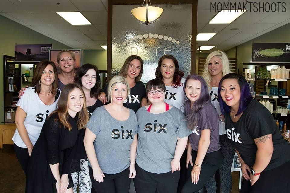 The team from Pure Salon Spa in Louisville, KY.