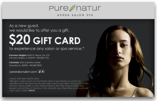 2013 STAMP Business Card Winner: Pure Natur