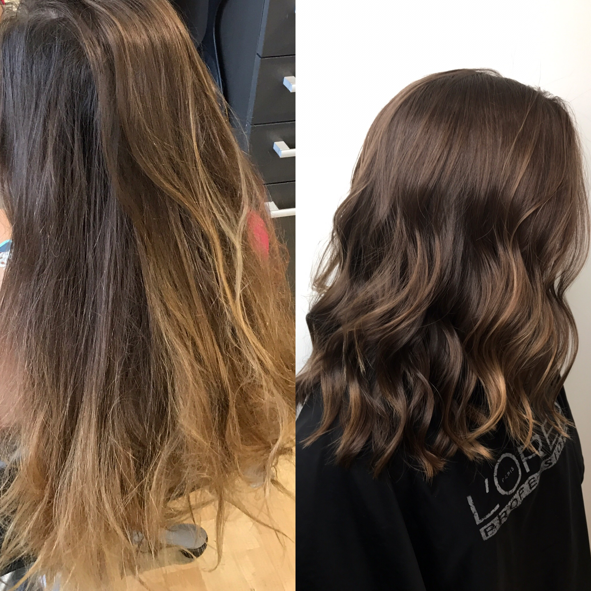 Cut and Conditioning Treatment Reveals Beautiful Hair