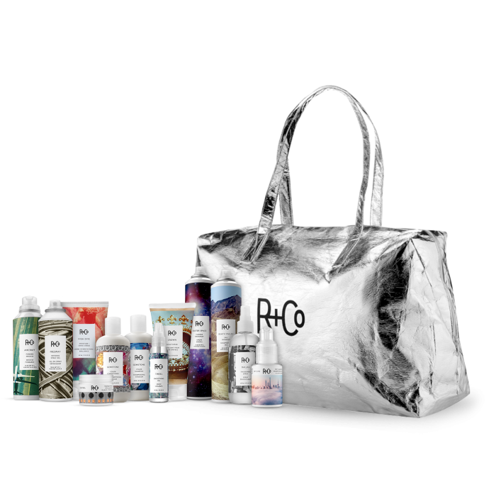 <strong>R+CO stylers, shampoos and conditioners</strong>