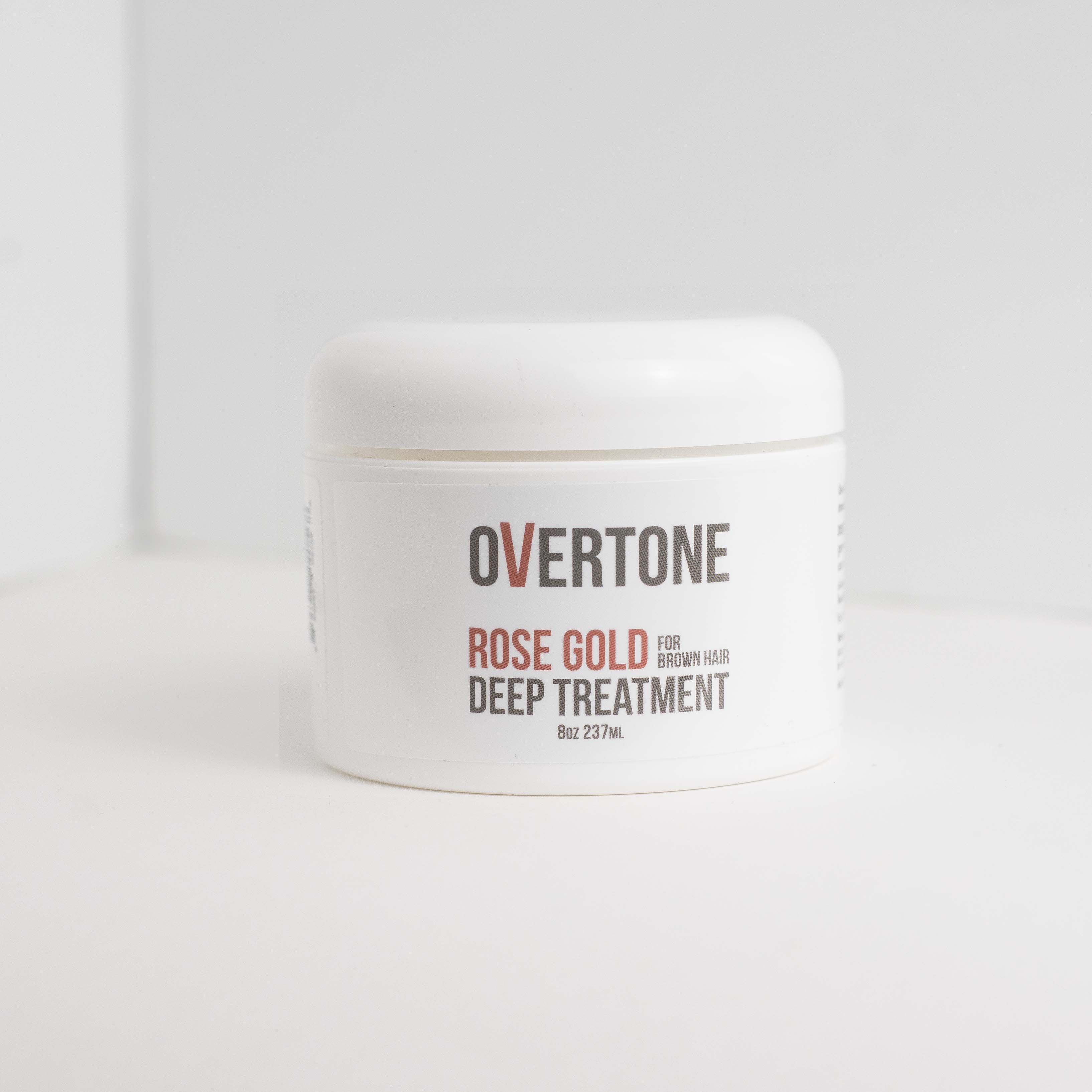 Overtone Haircare Releases Rose Gold for Brown Hair