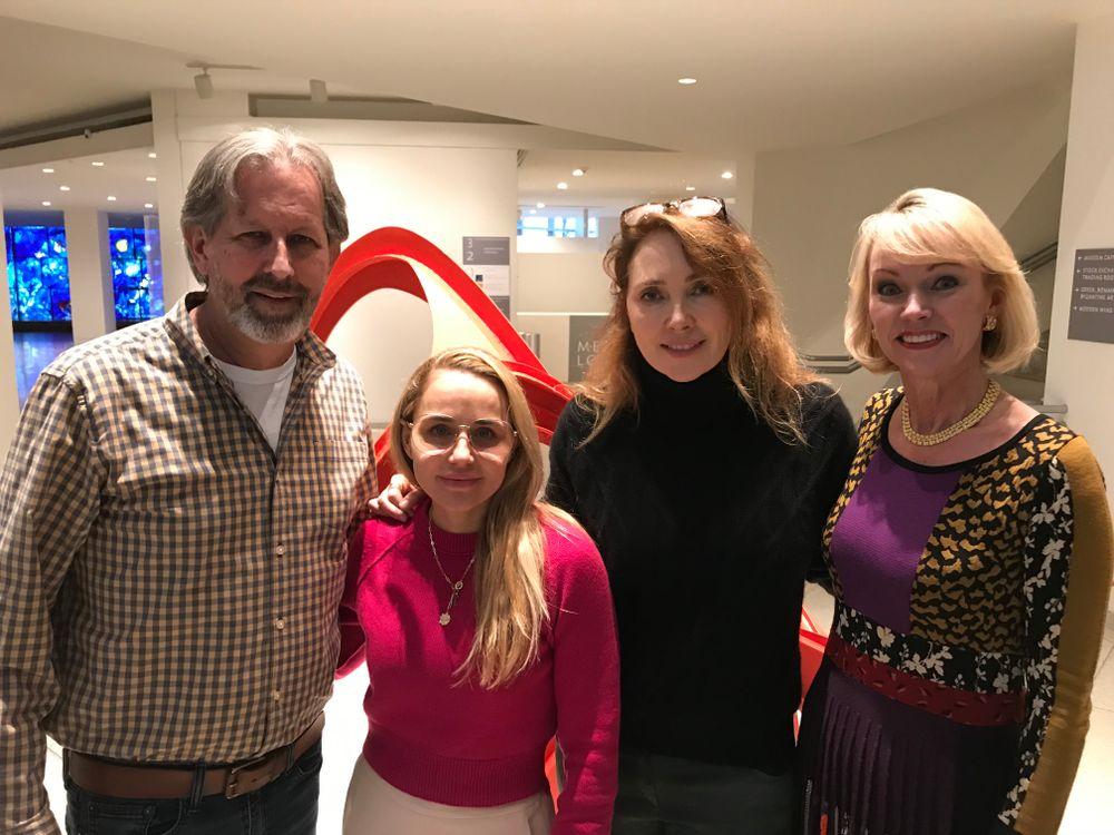 <p></p> <p>Pivot Point's Robert Passage, Nicole Thomas-Rechelbacher, Kiran Stordalen and Beauty Changes Lives' Lynelle Lynch.</p>