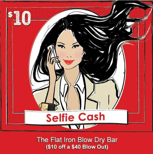 STAMP 2014: The Red Door Elizabeth Arden In-Salon Promotion