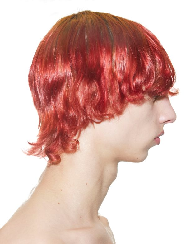 RAF SIMONS: Raw, lived in color by Redken Global Color Creative Director Josh Wood.