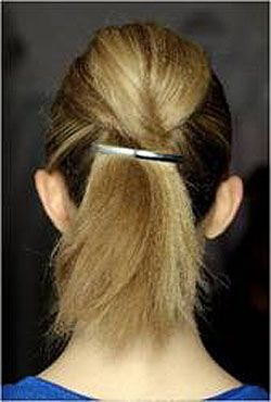 Hair at Marc by Marc Jacobs Show, 2012 Spring/Summer Fashion Week