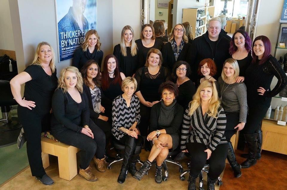 The team from Rejuve Salon Spa in Carmel, IN.