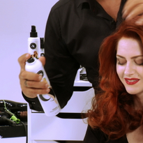 HOW-TO: Create Retro and Wavy Pin Curls in 7-10 Seconds