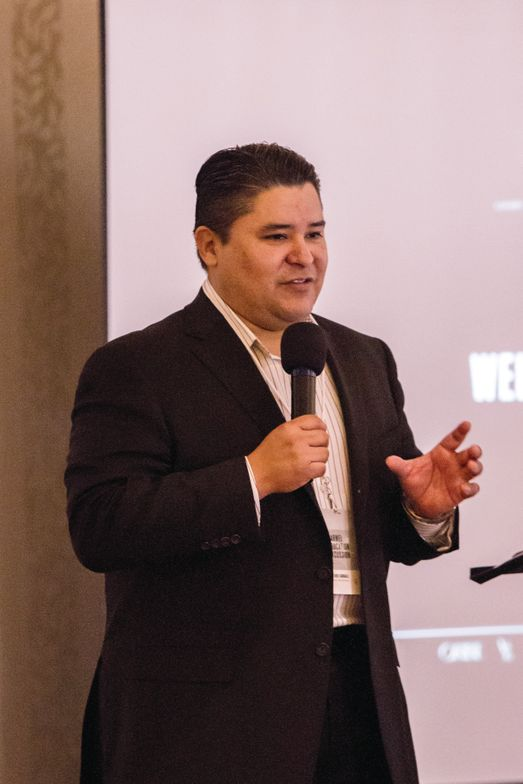 Reuben Carranza, president of R+Co and V76