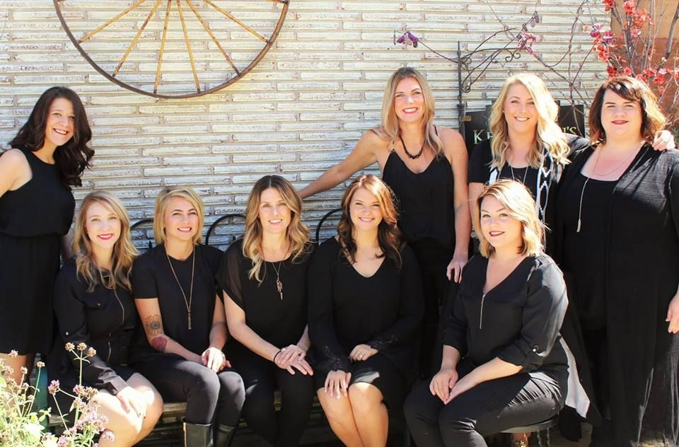 The team from Revive Salon in White Bear Lake, MN.