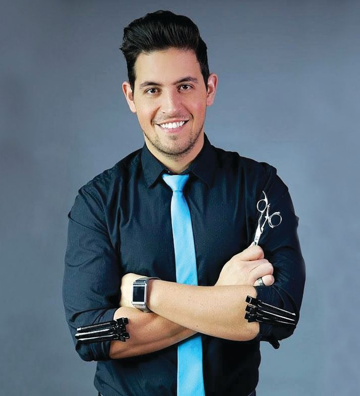 Ricardo Santiago, <strong>global artist, Joico</strong>