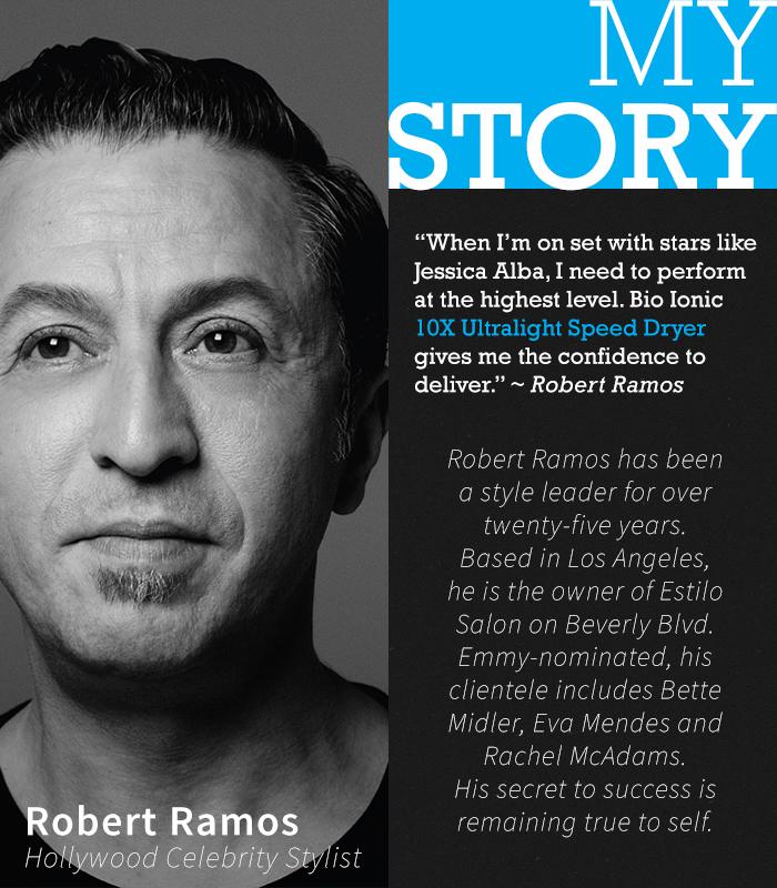 Stylist Spotlight: Bio Ionic's Robert Ramos