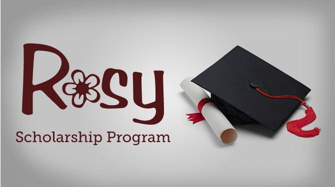Enter Rosy Awards Scholarship Program - For Future Professionals!