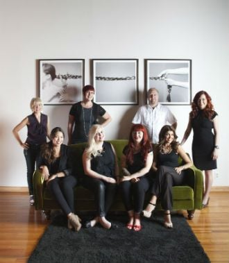 Wella's Charity Challenge: Royale Hair Auctions Art for Kids