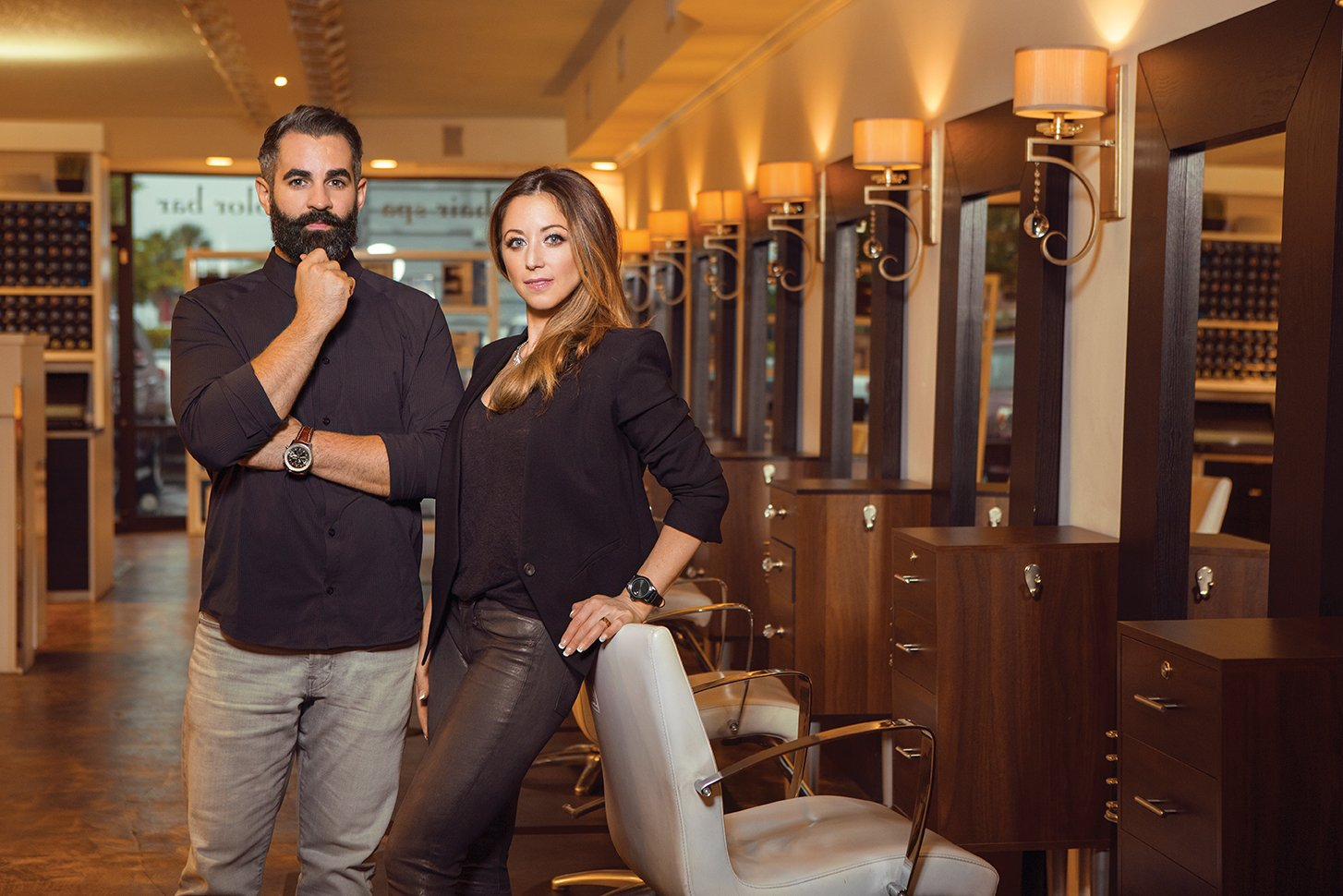 Ryan Cortello and Courtney Costello developed a solid system for fueling salon growth by focusing on their team at Cortello Salon in Jacksonville, Florida.