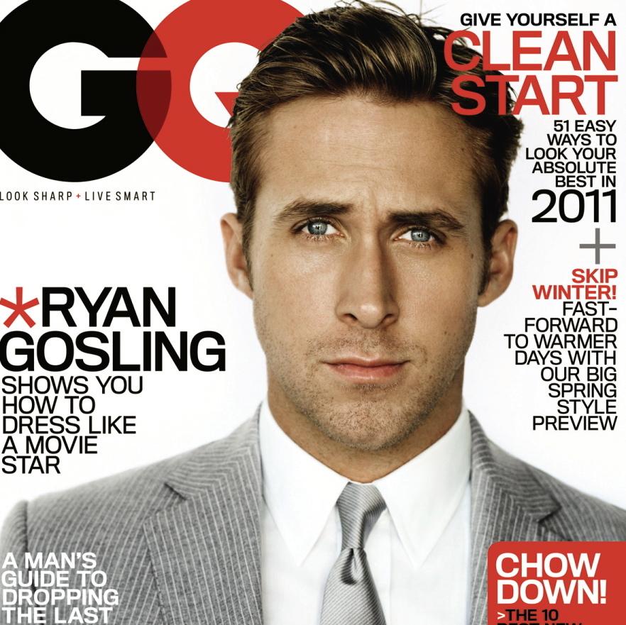 Ryan Gosling Covers GQ