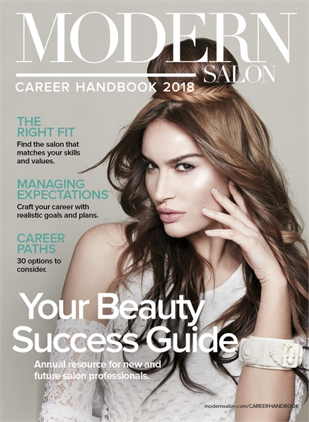 MODERN's 2018 Career Handbook, cover by Joanna Rivera created at the Spring 2018 ARTIST SESSION.<br />Photo: Roberto Ligresti<br />Makeup: David Maderich<br />Fashionstying: Rod Novoa<br />Manicure: Julie Kandalec (using essie)<br />Fashions by Studio West