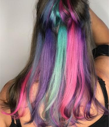 Peek-a-boo Unicorn Color