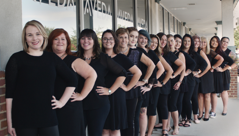 The team from Salon 2000 in Fleming Island, FL.