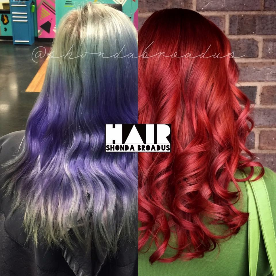 TRANSFORMATION: Vivid To Red, Again!