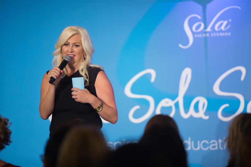 Kim Bennett, Cultural Ambassador for Sola Salon Studios.