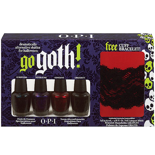OPI's Halloween 2010 Go Goth! Collection
