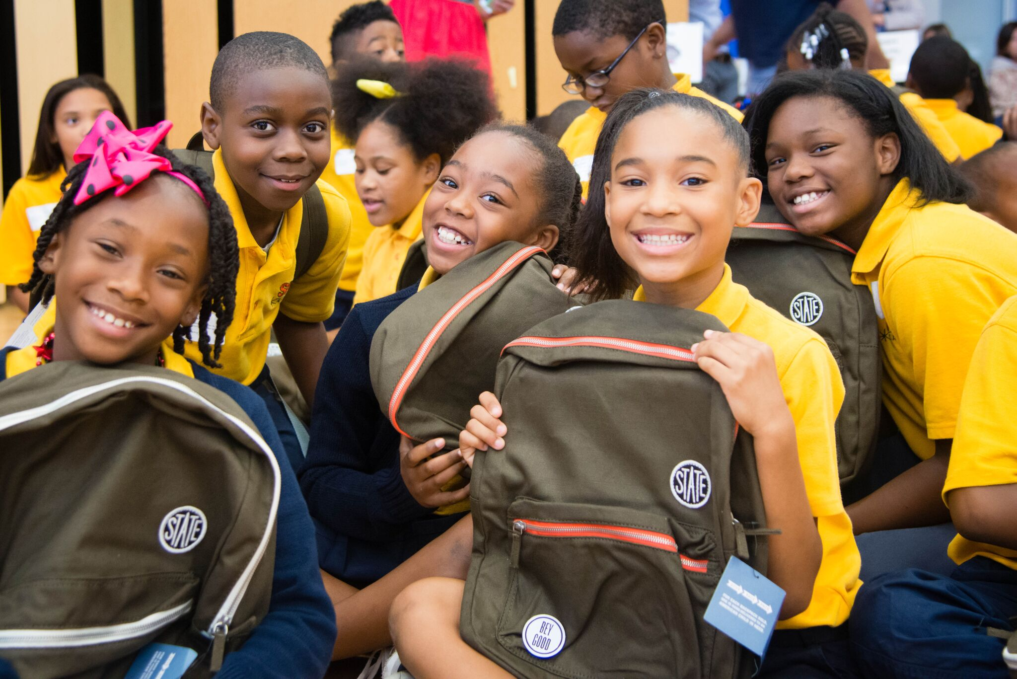 Millennium S.I. Gives Back to Children in Need Through Partnership with State Bags at the Millennium Experience 2017