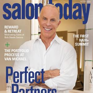 The November/December 2016 cover of Salon Today.