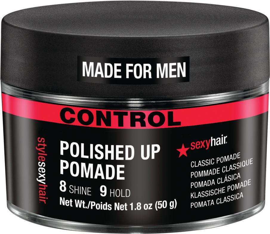 <p><strong>New Polished Up Pomade is a classic formula that offers massive shine and hold.</strong></p>