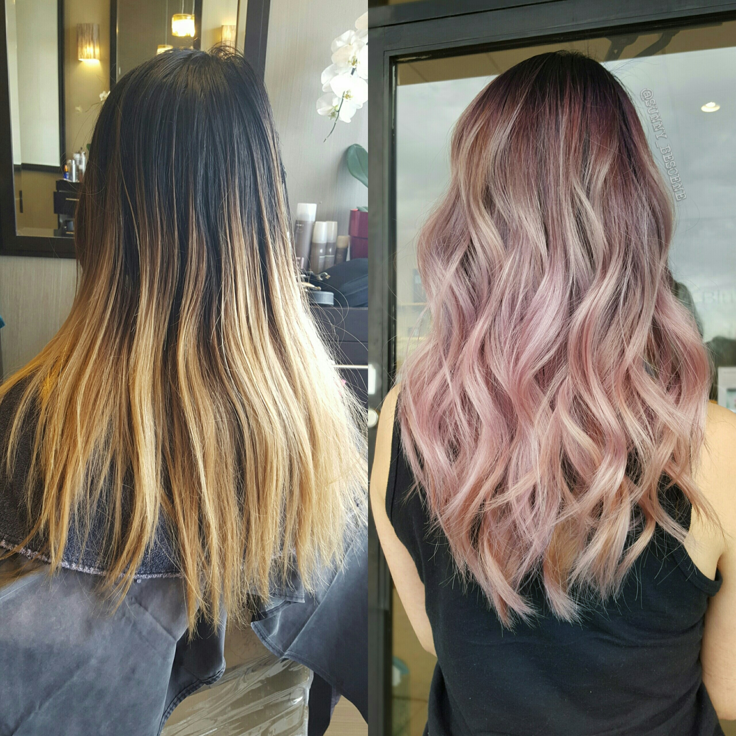 Transformation: Overgrown Ombré to Refreshed Pastel Melt