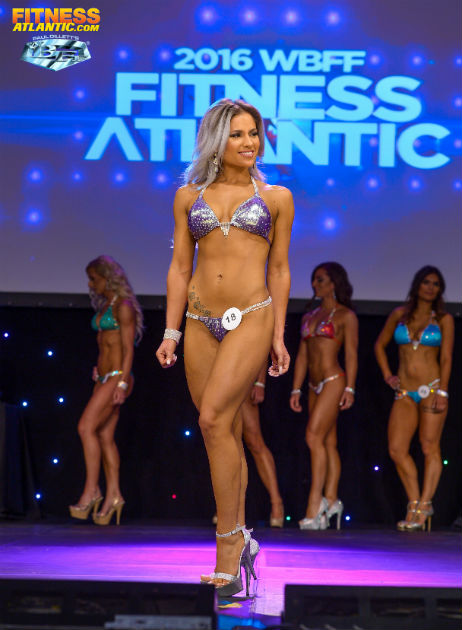 Sabrina Marie in competition
