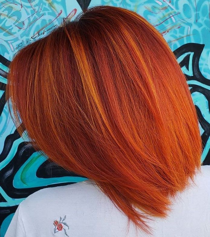 We LOVE this orange color!