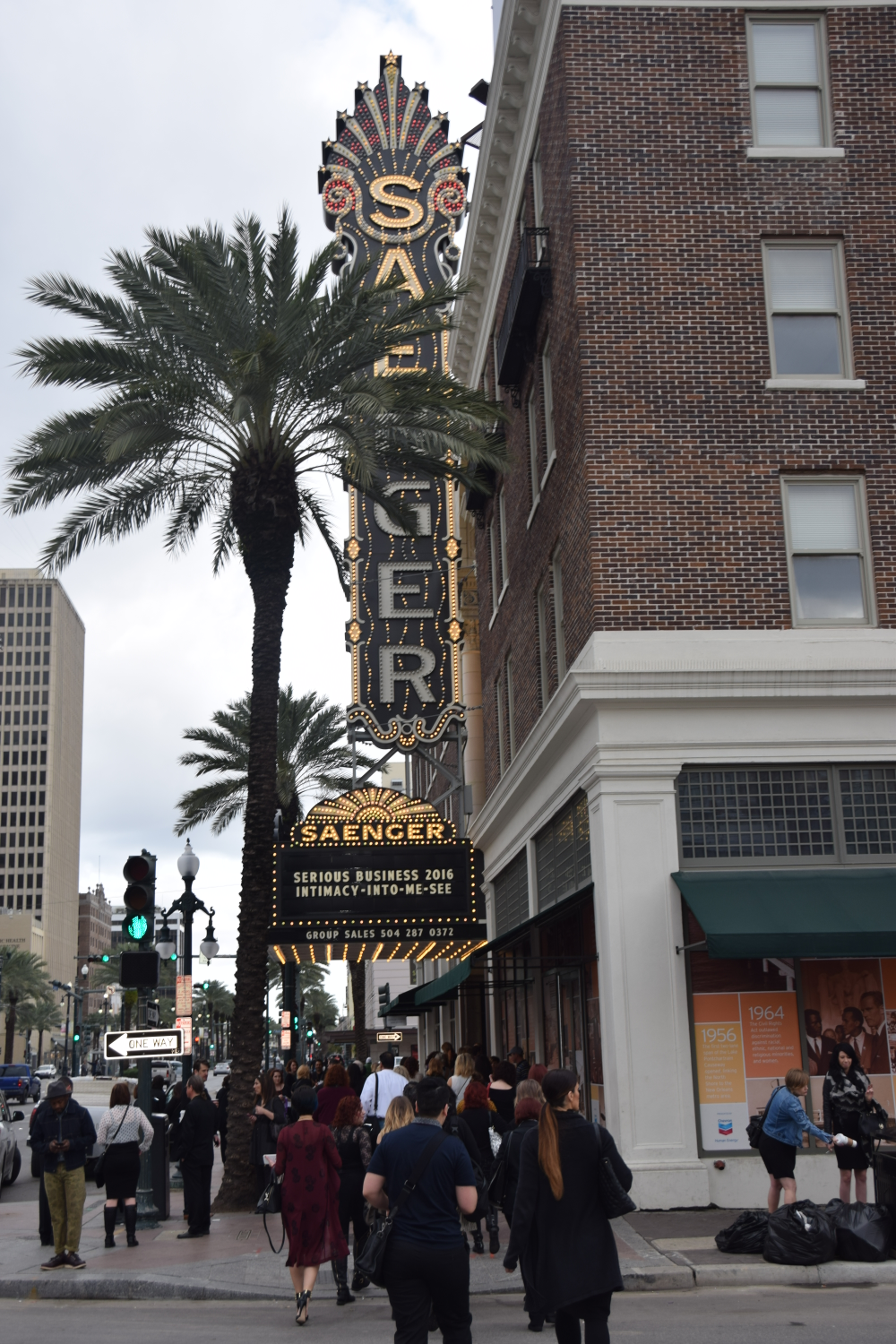 The historic Saenger Theater was the site for Serious Business 2016. (Photos by Jon Soble.)