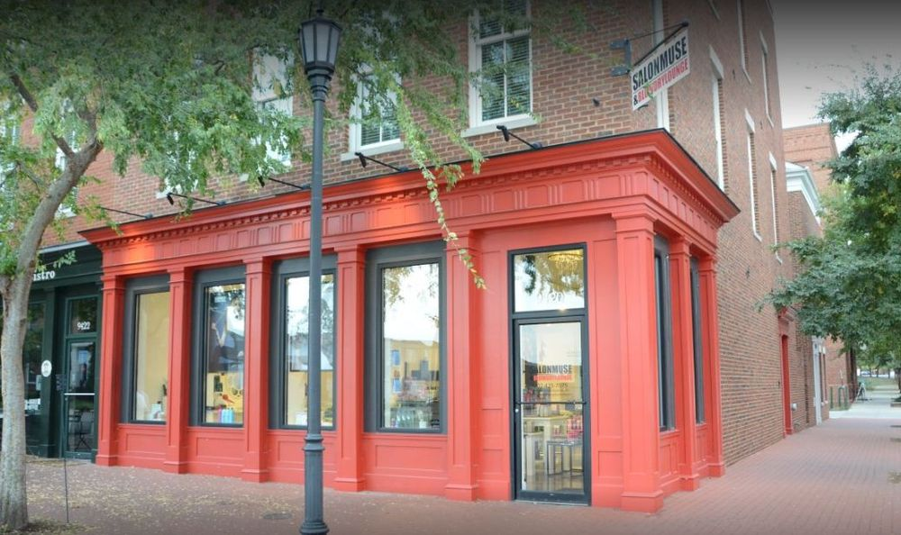 The exterior of Salon Muse and Blow Dry Lounge in Louisville, Kentucky.