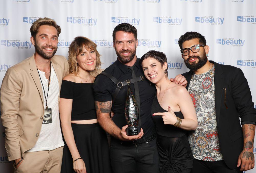 NAHA 2016 Salon Team of the Year Winner Ammon Carver Studio