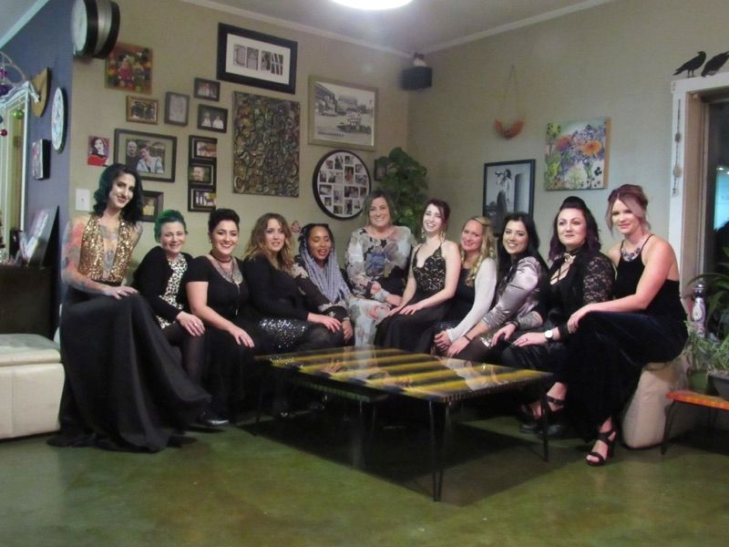 The team from Salon 6 in Indianapolis, IN.