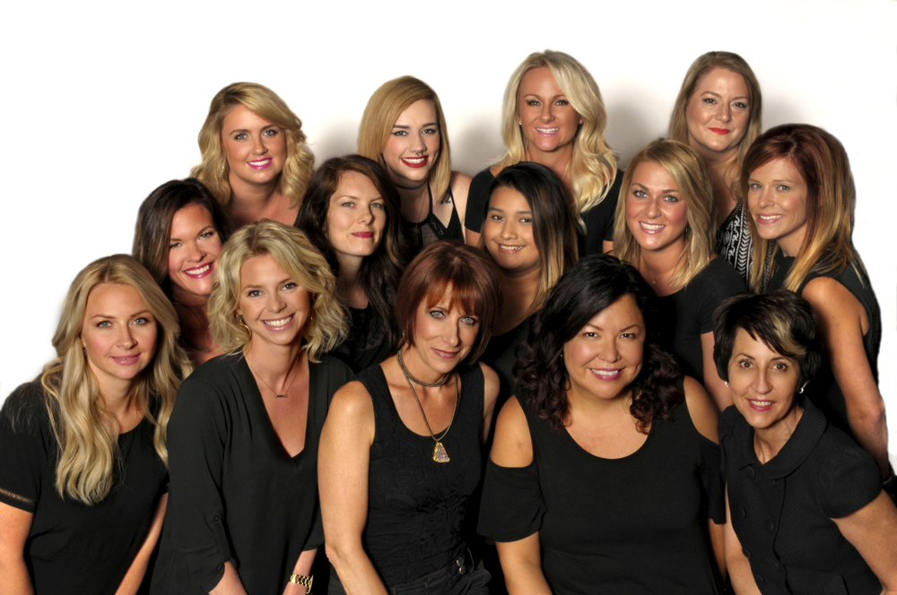 The team from Salon Laurie & Company in Baltimore, MD.