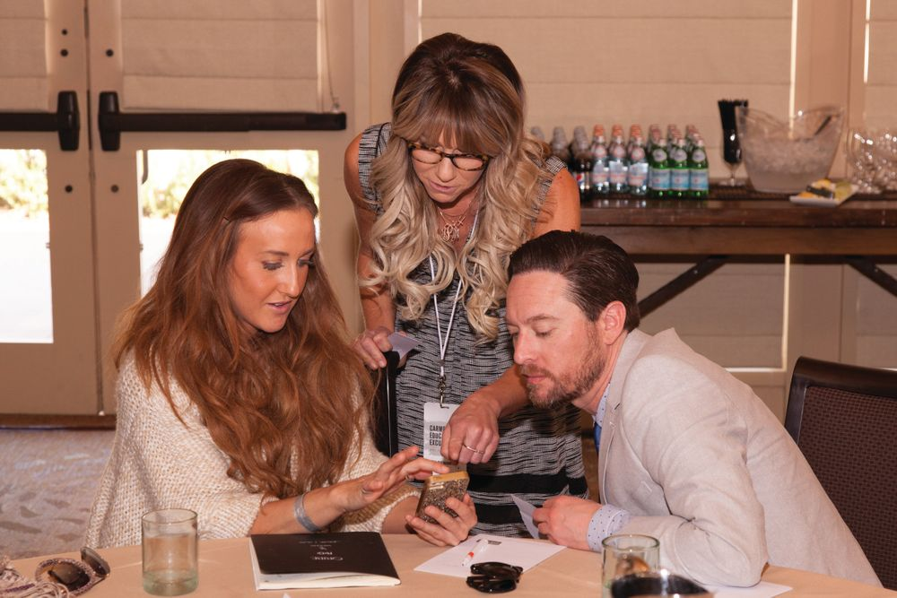 Owners collaborating at the Luxury Brand Partners' Education Excursion