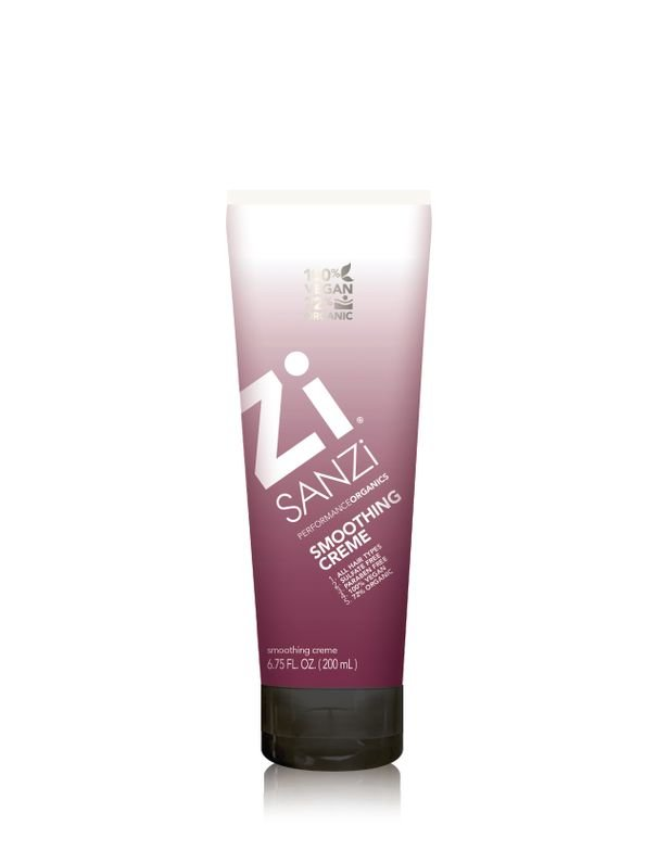 This creme provides frizz control and shine andwon't weigh hair down.