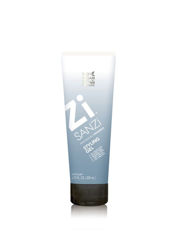 The non-sticky Styling Gel gives ultra-strong hold, helps retain curls, and doesn't flake.